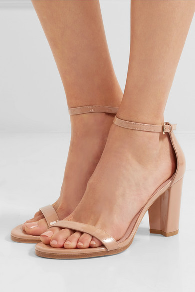 Nearlynude leather sandals Stuart Weitzman iqeSi