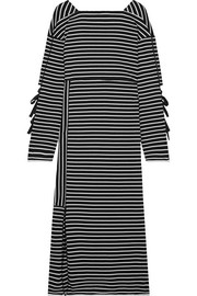 3.1 Phillip Lim Striped cotton-jersey midi dress