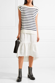 3.1 Phillip Lim Merino wool-blend and silk and cotton-blend dress