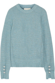 3.1 Phillip Lim Faux pearl-embellished knitted sweater