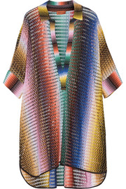 Missoni Mare crochet-knit tunic