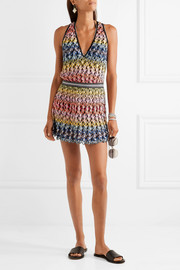 Missoni Cutout crochet-knit dress