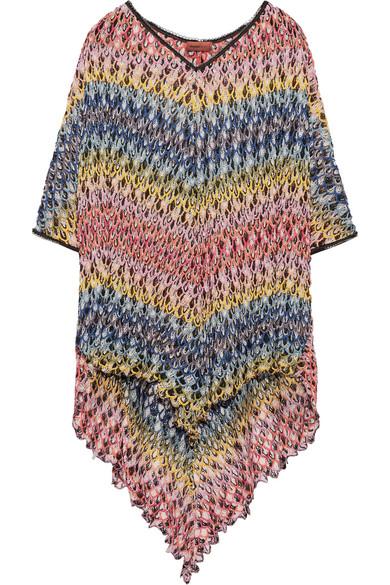 Missoni - Mare Crochet-knit Kaftan - Pink