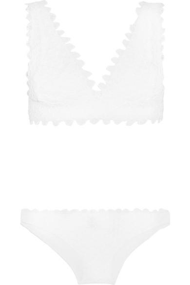 Missoni - Mare Crochet-knit Bikini - White