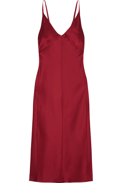 Helmut Lang - Satin Dress - Red