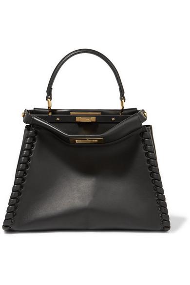 af3d1dcbf9021 Fendi. Peekaboo medium whipstitched leather tote