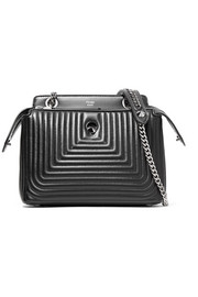 DotCom Click quilted leather shoulder bag