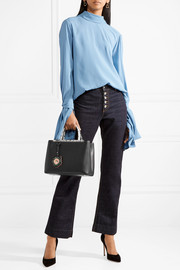 Fendi 2Jours python-trimmed leather shopper