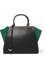 3Jours medium textured-leather tote