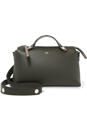 Fendi By The Way small elaphe-trimmed leather shoulder bag