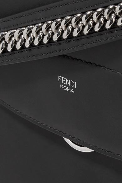 Fendi Back to School großer Rucksack aus Leder