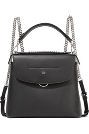 Fendi Back to School large leather backpack