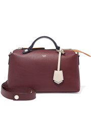 Fendi By The Way small color-block leather shoulder bag