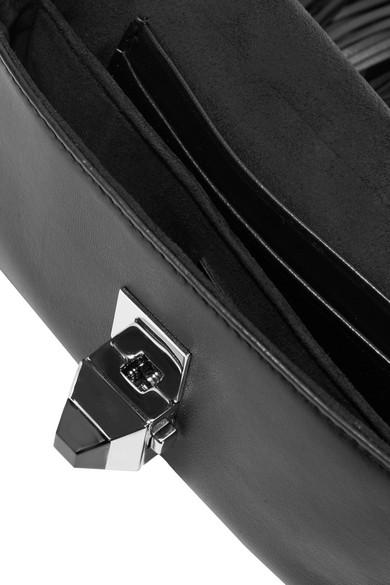 Fendi Baguette Schultertasche aus Leder mit Fransen Spielraum Shop tzjUqUjk