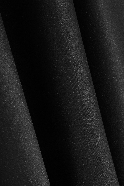 Michelle Mason Cutout backless silk midi dress