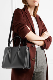 Lady Moc mini leather tote