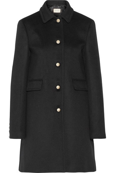 Gucci - Wool Coat - Black