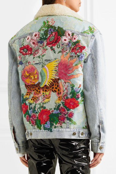 Image result for butterfly embroidery denim