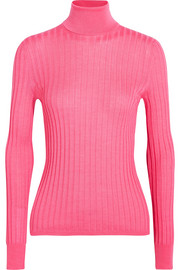 Gucci Ribbed wool, silk and cashmere-blend sweater