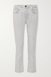 Current/Elliott The Slouchy Skinny cropped jeans