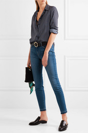 L'Agence The Laguna high-rise skinny jeans