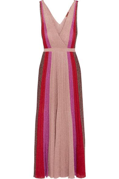 Missoni - Metallic Stretch-knit Gown - Pink