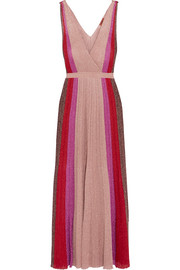Missoni Metallic stretch-knit gown