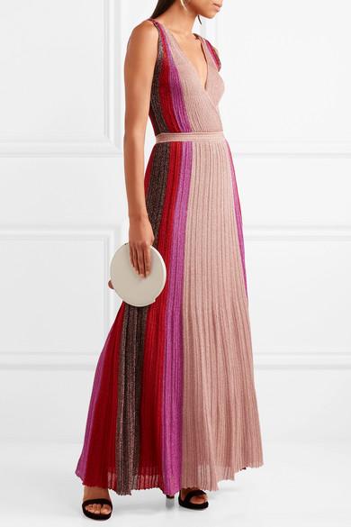 missoni metallic stretch knit gown net a porter com
