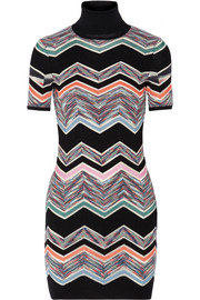 Missoni Zigzag wool-blend mini dress