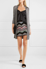 Missoni Zigzag wool-blend mini skirt
