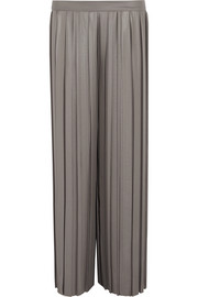 Farrah pleated poplin pants