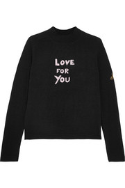 Love For You cashmere-blend turtleneck sweater