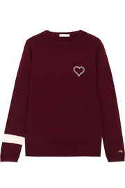 Bella Freud Embroidered cashmere sweater