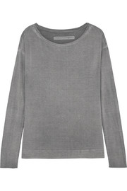Raquel Allegra Stretch-jersey top