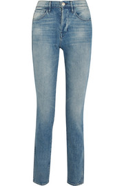 W4 Shelter Slim high-rise slim straight jeans