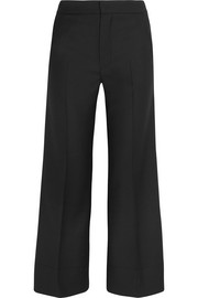 Ambrosio twill straight-leg pants
