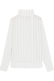 Almeria pinstriped Tencel shirt