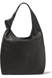 Knot mini leather tote