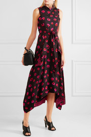 Proenza Schouler Printed georgette dress