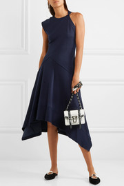 Proenza Schouler Asymmetric double-faced jersey dress