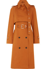 Proenza Schouler Double-breasted cotton-twill trench coat