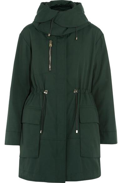 Proenza Schouler - Canvas Hooded Coat - Dark green