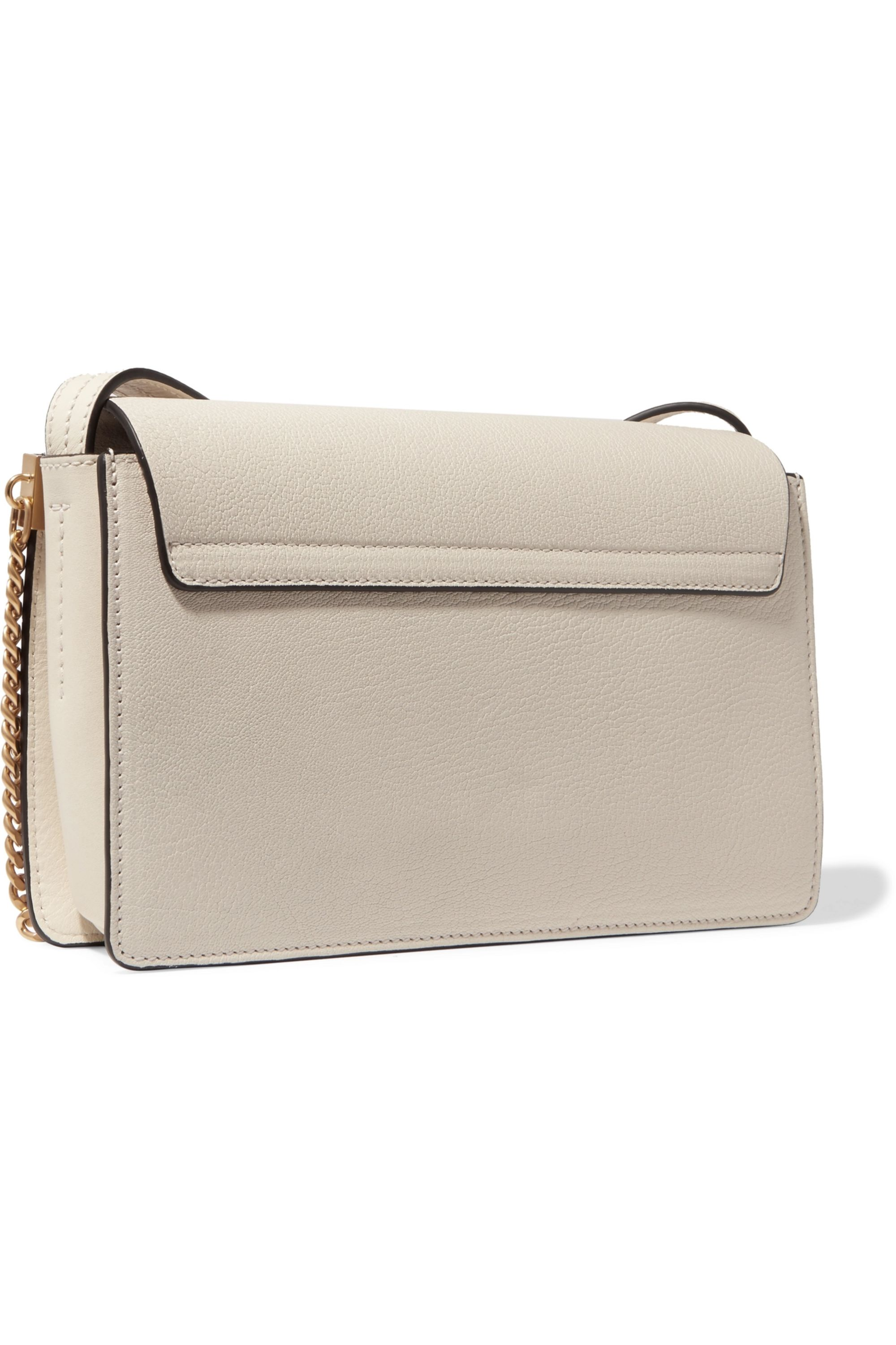 Chloé Faye small textured-leather shoulder bag