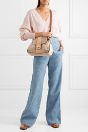 Chloé Lexa small nubuck shoulder bag