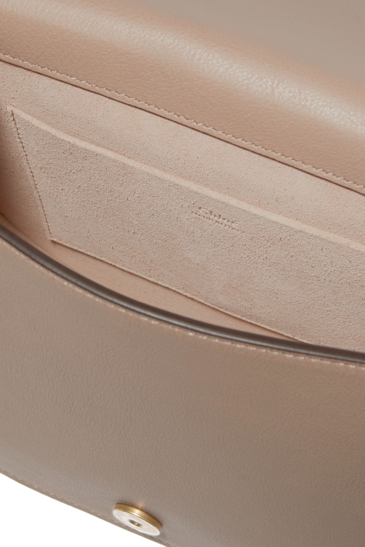 Chloé Nile Bracelet medium textured-leather and suede shoulder bag