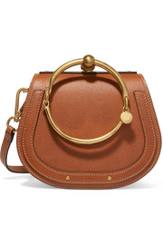 Nile small leather shoulder bag