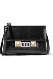 PS11 mini leather shoulder bag