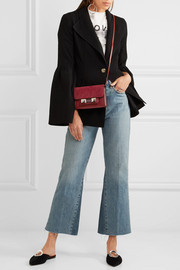 Proenza Schouler PS11 Wallet leather and nubuck shoulder bag