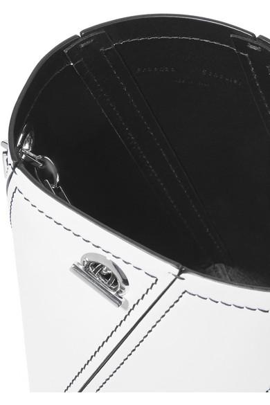Proenza Schouler Hex mini Schultertasche aus Lederbahnen