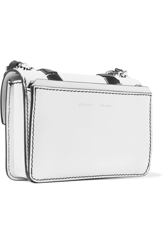 Proenza Schouler Hava mini whipstitched leather shoulder bag